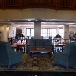 Lobby und Frühstücksraum