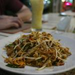 Pad Thai was delicious and the nachos were pretty good too.  Good price and friendly staff