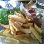 Camembert rôti et SON lard