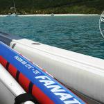 Inflatable Paddleboards are great for taking on a boat trip