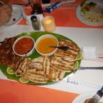 Grilled/blackened fish with special sauces.....