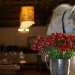 Big boy (our resident horse) in the Stable restaurant