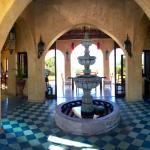 Fountain near entry when Owen lives.