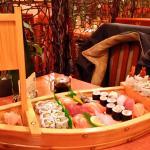 Le bateau, qui entrait dans un menu 4 services