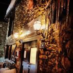 Fachada del restaurante en pleno invierno