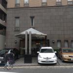 Entrance to Sasebo Washington Hotel