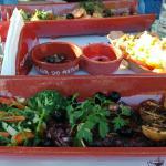 Polvo à Lagareiro, Bacalhau Assado e Salada Mista