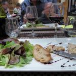 entrée originale à base de foie gras