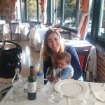Con mi familia en el Cenador de los Canonigos