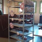 Park Side Eatery - donut rack