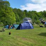 Priory Mill Farm Campsite in May 2015