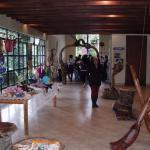 Exposición en la hacienda