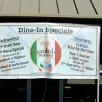 Banner advertizing Specials