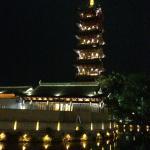 Huzhou Feiying Park at night....