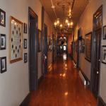 Historic hallway