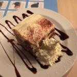 The thick creamy Tiramisu