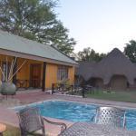 Lodge und Pool