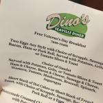Veteran's Day 11 Nov. 2015 at Dino's Seaville Diner