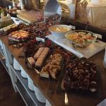 Dessertbordet på Hasselbacken