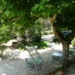 service petit déjeuner et restaurant au jardin