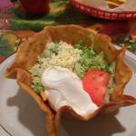 Lunch taco salad