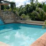 Der saubere, zentral gelegene Pool