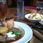 Sunday Roast (Beef), The Steam Crane, Bristol