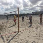 Terrain de beach-volley