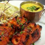 Meen Moilee - Grilled Salmon