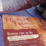 Nombre del lugar en el menu
