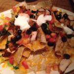 Nachos with chicken