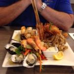 So much seafood!