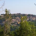 Civitella vista da Colle San Nicola