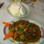 beef with curry