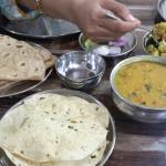Dal Fry and Batata Suki Bhaji