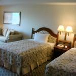 A twin-bedroom