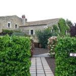Jardines y restaurante