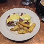 The Eggs Benedict special was amazing