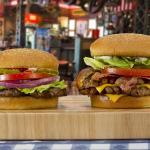 Char-Broiled Hamburger and Double Char-Broiled Bacon Cheeseburger