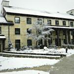 Snow Covered Spring Mill Inn