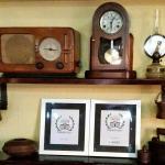 Rustic details with TripAdvisor awards