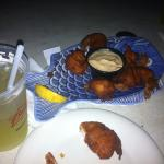 Hush-puppy shrimp... worth a taste