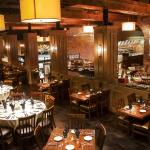 Beautiful restaurant dining room at Rodizio Grill in Nashville