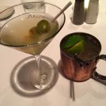 martini and Tennessee mule