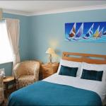 Room 2 - double bed and single bed