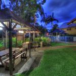 Garden BBQ areas