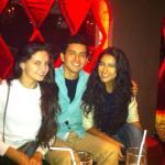 Con amigos en rouge!