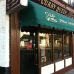 Exterior of the famous Curry Queen curry house!