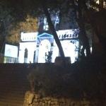 Iglesia de Santa Apolonia de noche