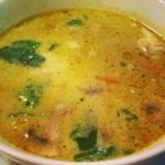 Suppentopf mit Heilbutt (scharf)